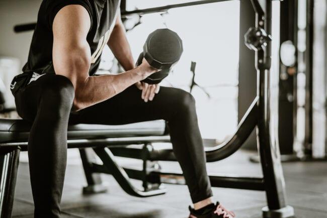 Fitness - Hantelübung