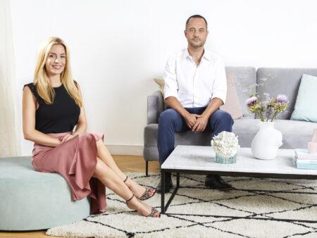 Westwing-Gründer Delia Lachance und Stefan Smalla.