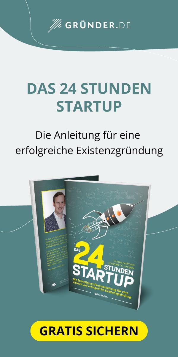 Das 24 Stunden Startup (Buch)