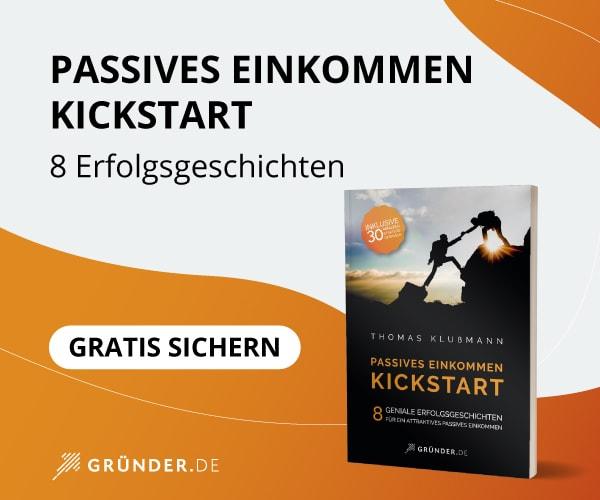 Kickstart – Passives Einkommen (Buch)