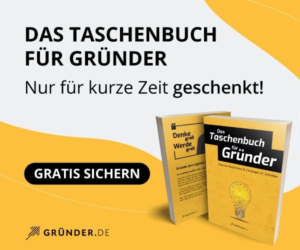 Das Taschenbuch für Gründer (Buch)