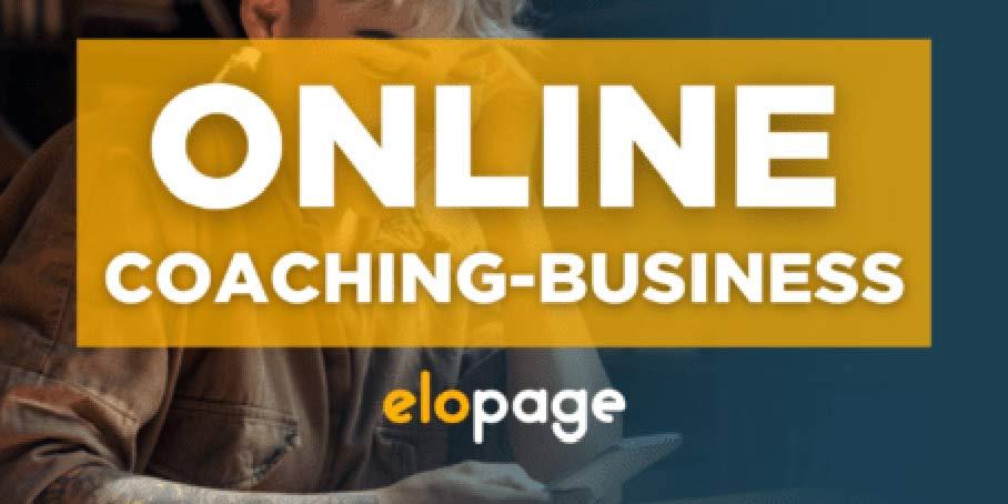 Online Coaching Business mit elopage