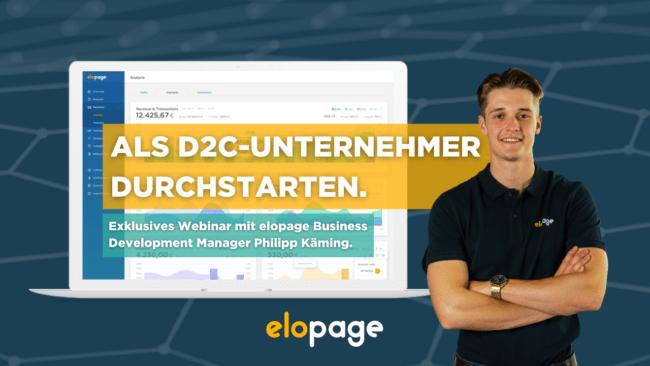 elopage D2C Webinar