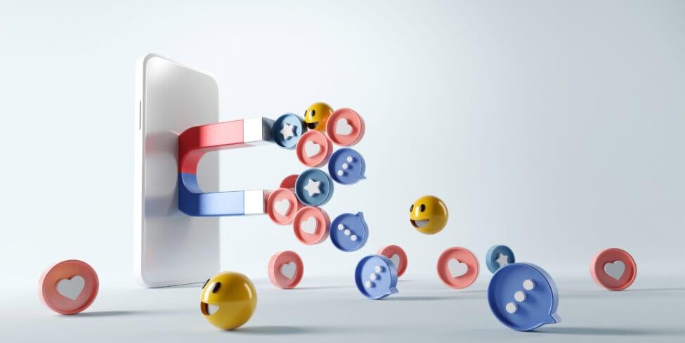 Auch auf Social Media kannst du mit Lead-Magneten arbeiten.