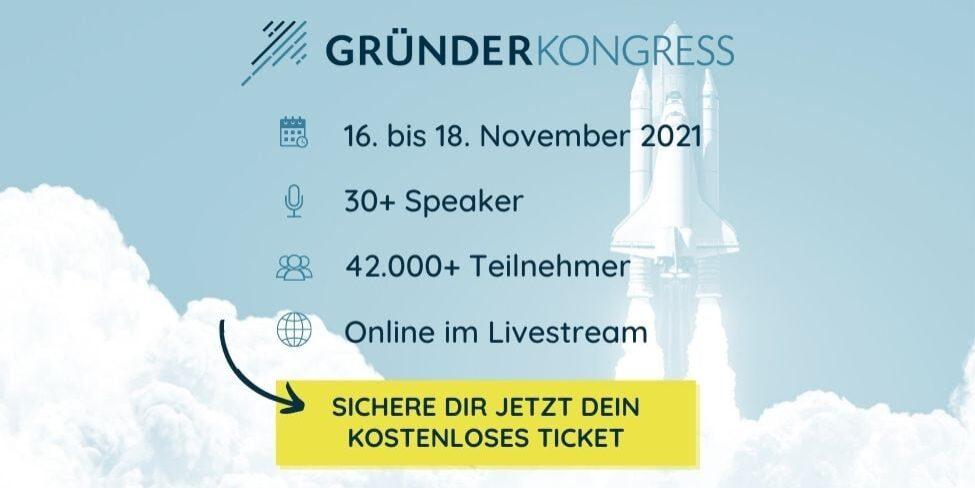 Gründerkongress 2021 Event