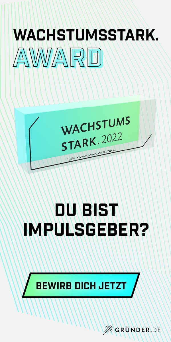 wachstumsstark. Award 2022