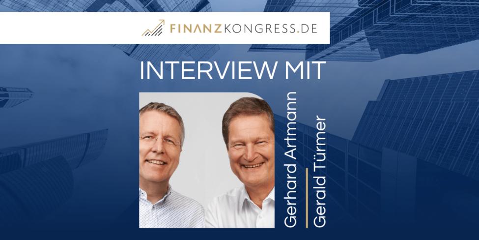 Gerhard Artmann & Gerald Türmer im Finanzkongress-Interview