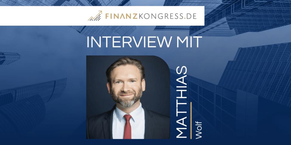 Matthias Wolf im Finanzkongress-Interview