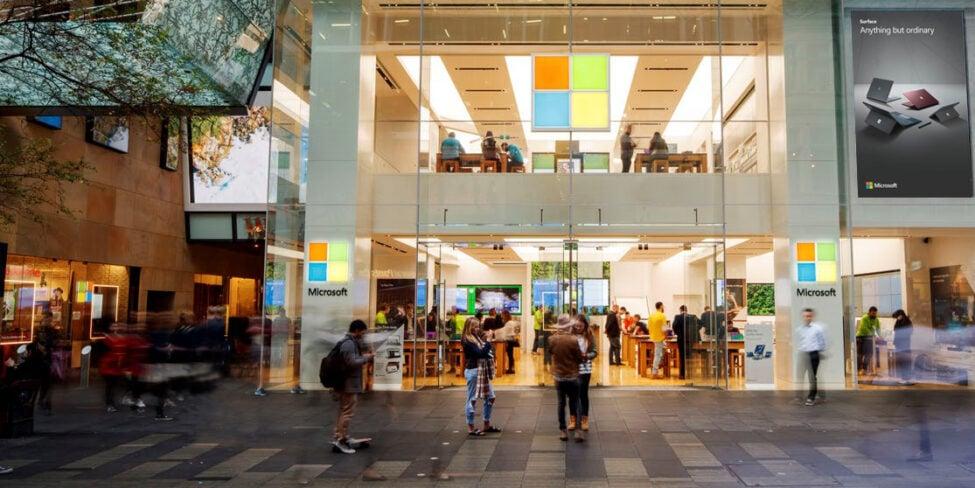 Microsoft-Store - Microsoft-Gründer