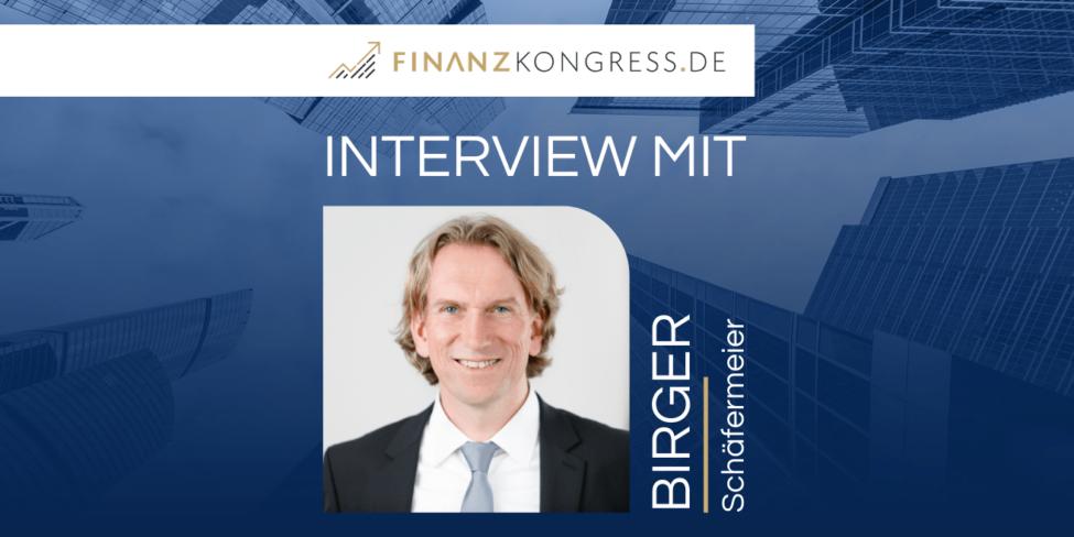 Birger Schäfermeier im Finanzkongress-Interview