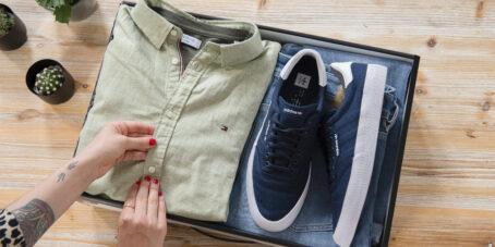 Die Outfittery-Gründerinnen entwickelten die Idee für solche Shopping-Boxen für Männer